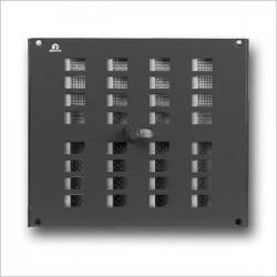Renson Grille intérieure réglable 4032/2 240x200 en blanc RAL9010 ( par 5 pièces) 00403226