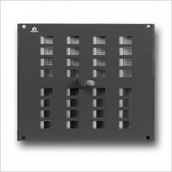 Renson Grille intérieure réglable 4032/2 325x300 naturelle ( par 5 pièces) 00403231
