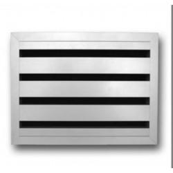 Renson Grille porte acoustic 468AK/2 452x448 blanc RAL9010 46824526