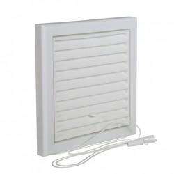 Renson Grille PVC 732 DIY - réglable 154x154 en blanc 57321546