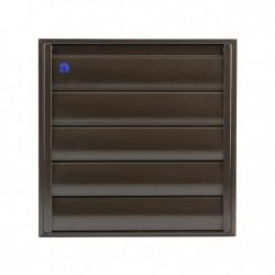 Renson Grille surpression 433 pour hotte DIY 173x173 en gris brun 34332107