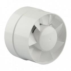 Renson Ventilateur tubulaire diametre 100 RAL9010 blanc 105m³/h passage d'air DIY 67121006