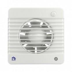 Renson Ventilation mecanique 7501-m 100mm blanc, materiel PVC, détecteur mouvement DIY 67501006