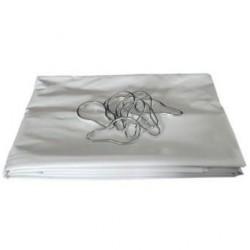 Rideau PVC 240x200 blanc à Croch  217004710