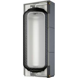 Roth réservoir tampon avec isolation amovible Thermotank Quadroline TQP 500L dimensions 780 x 780 x 1965 mm  1115009467