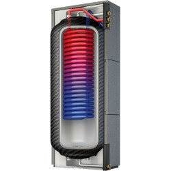 Roth réservoir tampon pour chauffage ECS  avec isolation amovible Thermotank Quadroline TQTW 325L hauteur 1935 mm  1115009464