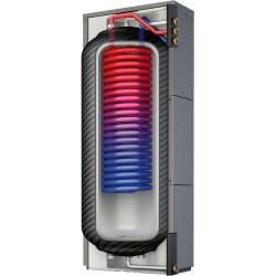 Roth réservoir tampon pour chauffage ECS  avec isolation amovible Thermotank Quadroline TQTW 500L hauteur 1935 mm   1115009469
