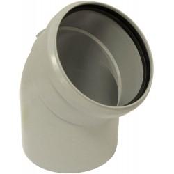Remeha coude de série Quinta 65-115 de diamètre 100mm avec rayon 45° PP 7620178