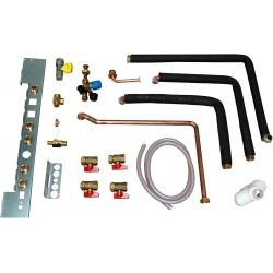 Remeha kit de raccordement gaz gauche CC et eau chaude sanitaire de série Calora Tower  100017762