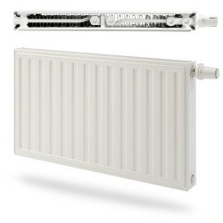 Radson Radiateur E-flow integra droite de type 11 hauteur 400 largeur 1800 puissance 1271 EIN114001800R