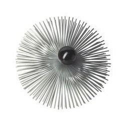 Progalva hérisson acier diamètre 200 mm avec raccord 12x175 1604