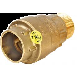 Raccord gaz PE Push 32x4/4 mâle  RO0512001