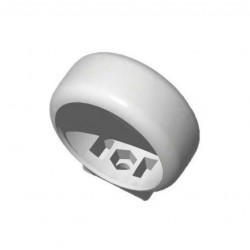 Pipelife collier de serrage pp mabo 40mm blanc 178131