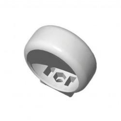 Pipelife collier de serrage pp mabo 50mm blanc 178132