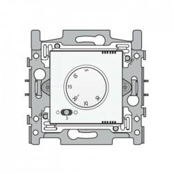 Niko Thermostat électronique avec commutateur à 3 positions, acier blanc 154-88000