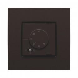 Niko Thermostat électronique avec commutateur à 3 positions, chauffage ou airco, brun  124-88000