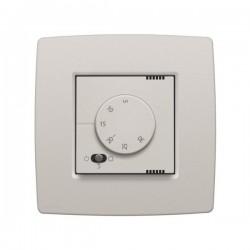 Niko Thermostat électronique avec commutateur à 3 positions, gris clair 102-88000