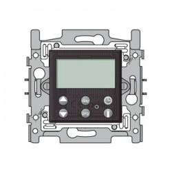 Niko Thermostat numérique, socle et set de finition pour Nikobus, brun foncé 124-00500