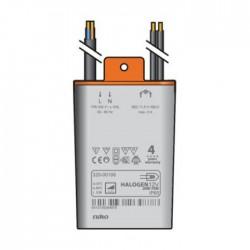 Niko Transformateur électronique 11,5V 70W avec fil PRI et SEC IP65  320-00106