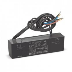 Niko Transformateur électronique plat de 105 W avec raccordements filaires du côté primaire et du côté secondaire 320-00134