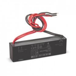 Niko Transformateur électronique plat de 70 W avec raccordements filaires du côté primaire et du côté secondaire 320-00133