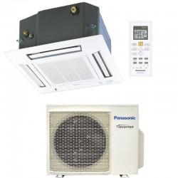 Panasonic Climatiseur à cassette 3,5 KW CS-Z35UB4EAW+CU-Z25UBEA