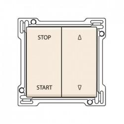 Niko Manette pour interrupteur pour volets 10A 250V AC, crème 100-65905