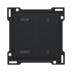 Niko Manette pour interrupteur pour volets 10A 250V AC, noir 161-65905