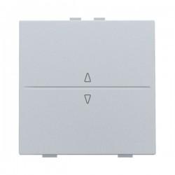 Niko Manette simple up & down pour poussoir câble-bus ou RF émetteur mural, sterling 121-00004