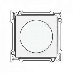 Niko Manette up/down pour poussoir rotatif avec commande rotative 25A, acier blanc 154-65926