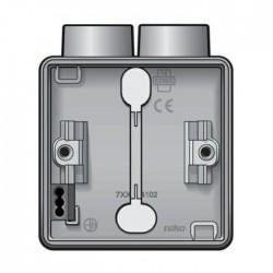Niko New Hydro boîtier en saillie pour 1 fonction avec 1x2 entrées M20 700-84102