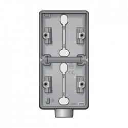 Niko New Hydro boîtier en saillie vertical pour 2 fonctions avec 1 entrée M20 700-84201