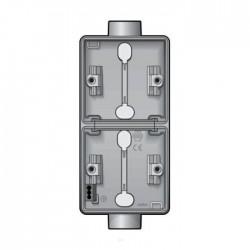 Niko New Hydro boîtier en saillie vertical pour 2 fonctions avec 2x1 entrée M20 700-84211