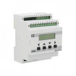 Niko Réglage par héliomètre commutation marche/arrêt, 24V DC, 4 modules  360-45010