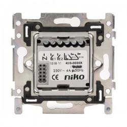 Niko Socle avec 2 contacts 4A, 230V 420-00300