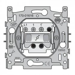 Niko Socle interrupteur va-et-vient 16A 250V AC 170-01616