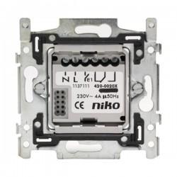 Niko Socle pour détecteur de mouvement, contact libre potentiel 4A, 230V 420-00200