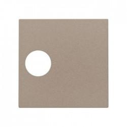Niko Enjoliveur pour connection coax simple, bronze  123-69101