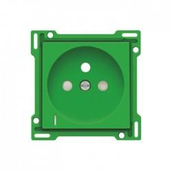 Niko Enjoliveur pour prise de courant avec indication de tension, vert 197-66607