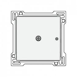 Niko Enjoliveur pour RF émetteur mural unipolaire 1 canal, acier blanc 154-77001