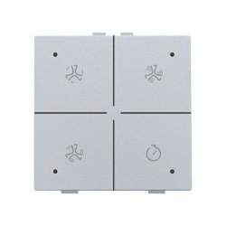 Niko Home Control commande ventilation avec led, sterling 121-52054