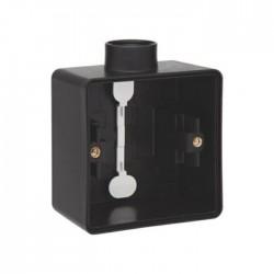 Niko Hydro boîte simple 1 entrée - noir 761-84101