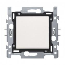 Niko Interrupteur unipolaire 10A 250V AC, blanc 101-61100