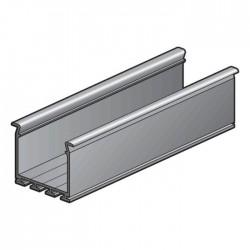 Niko Large profil architectural en aluminium 2m  340-12007