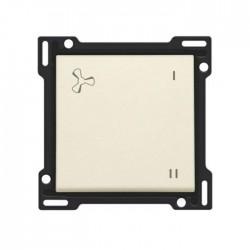 Niko Manette pour bouton poussoir VMC (ventilation mécanique contrôlée), crème 100-61106
