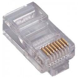 Nalitech connecteur RJ45 pour 100pieces de câble CAT6 PLCAT6