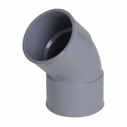 Nicoll  coude pvc 40 - 45° ch 4 358521