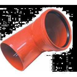 Nicoll coude egout a levre 125x87° c128 C128