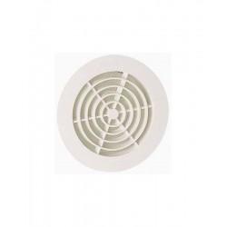 Nicoll grille ronde adaptateur PVC GATM125