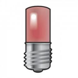 Niko  Douille E10 avec LED rouge  170-37003